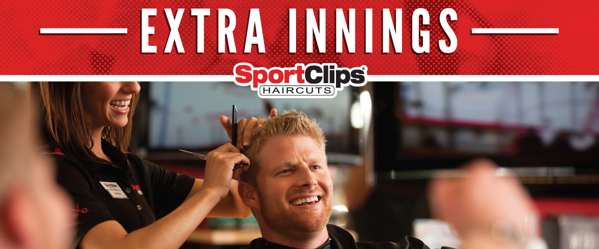 The Sport Clips Haircuts of Dent Extra Innings Offerings